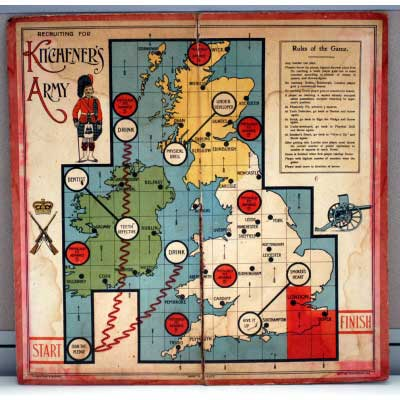 Kitcheners army board game