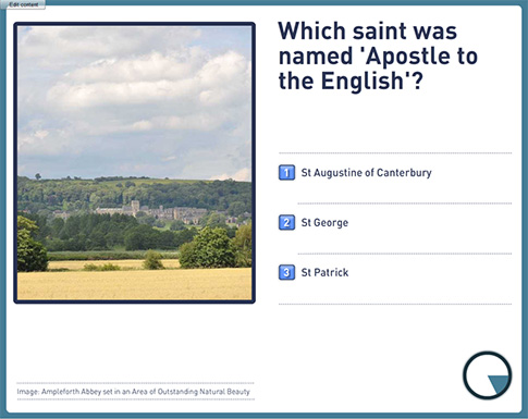 The Ampleforth Abbey Quiz